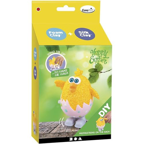 Silk and Foam Clay Easter Friends Kit - Easter Chick