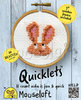 Quicklets Cross Stitch Kit - Bunny