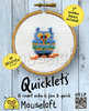 Quicklets Cross Stitch Kit - Blue Owl