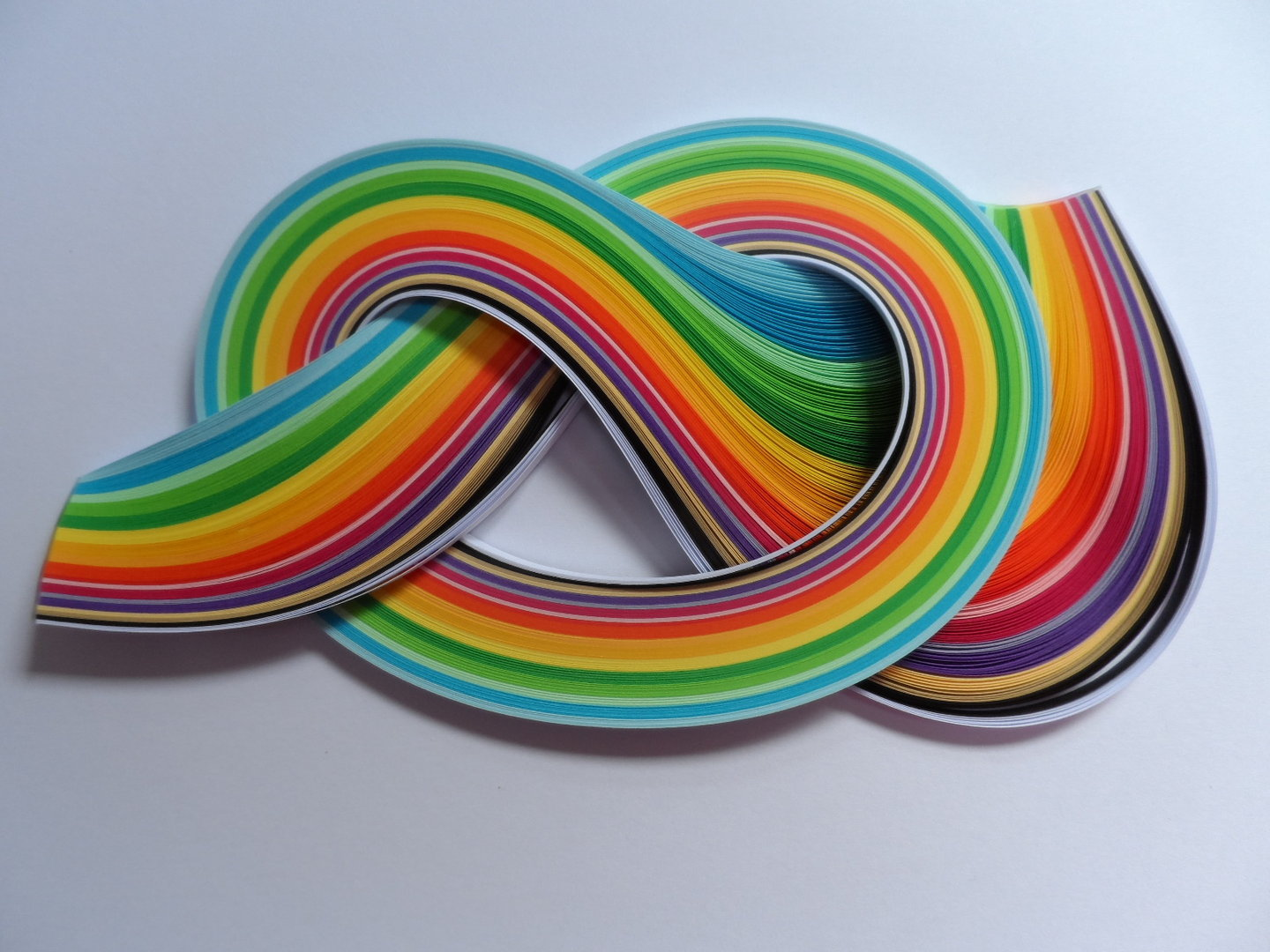 Pack of 175 Strips of 3mm Quilling Papers Summer Colours