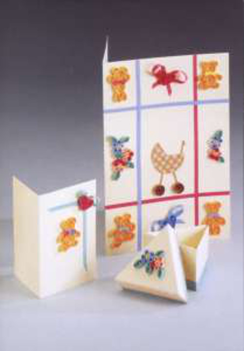 Quilling Card and Gift Box Kit - Baby *DISCONTINUED Last Few Remaining*