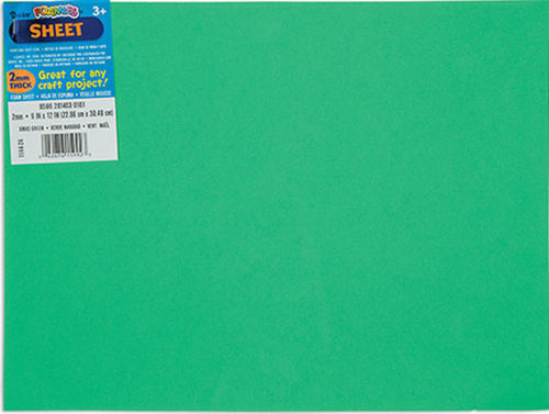 2mm Fun Foam Sheet - Green