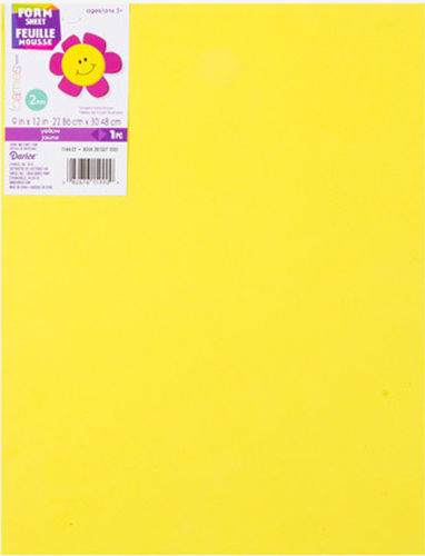 2mm Fun Foam Sheet - Yellow