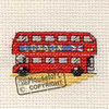 Images of Britain Cross Stitch Kit - London Bus