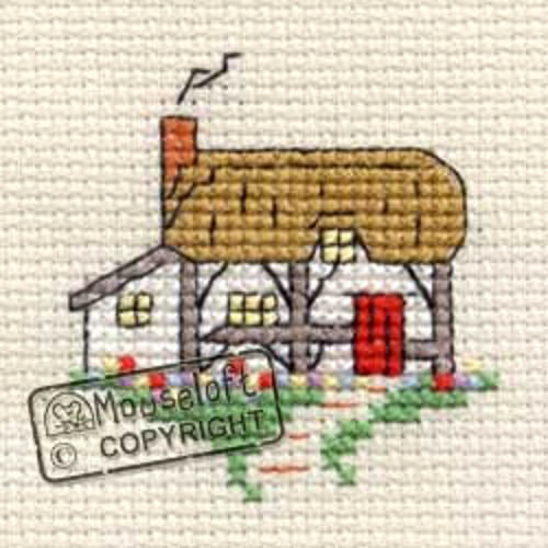 Images of Britain Cross Stitch Kit - Cottage