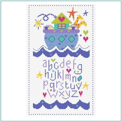 The Stitching Shed Ark Sampler Cross Stitch Kit
