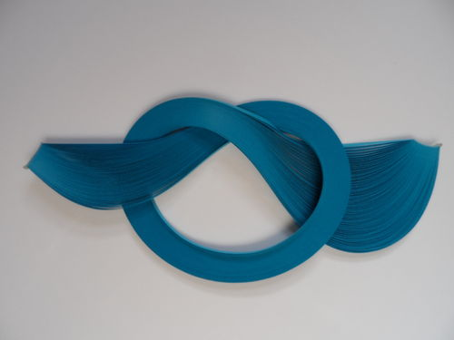 Pack of 100 Strips of 3mm Quilling Papers Blue