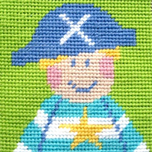The Stitching Shed Children's Pirate Needlepoint Kit