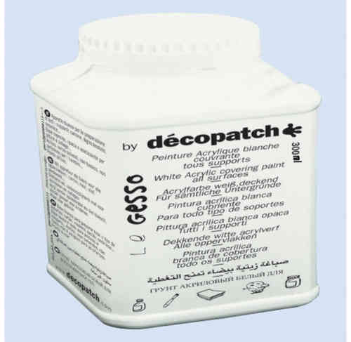 Decopatch White Acrylic Paint 300g