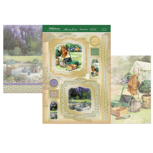 Hunkydory Milestones Topper Set - On Your Retirement