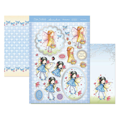Hunkydory Fairy Sweethearts Topper Set - Fairy Garden
