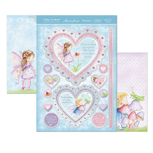 Hunkydory Fairy Sweethearts Topper Set - Shared With Friends
