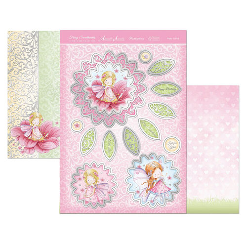 Hunkydory Fairy Sweethearts Topper Set - Pretty In Pink