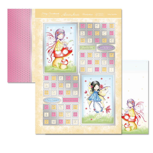 Hunkydory Fairy Sweethearts Topper Set - Fairy Sparkles