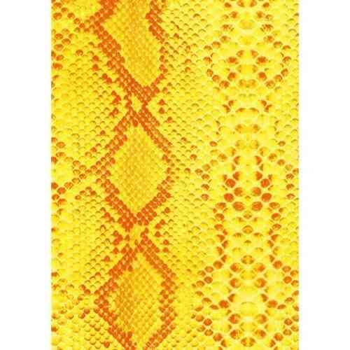 Decopatch Sheet - Orange & Yellow Snakeskin (478)
