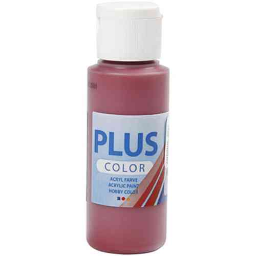 Plus Color Acrylic Craft Paint 60ml - Antique Red