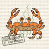 By The Seaside Cross Stitch Kit - Crab