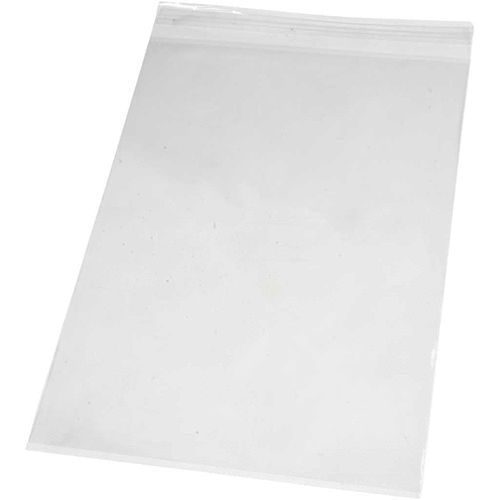 Pack of 100 Cellophane Peel and Seal Card Bags A4