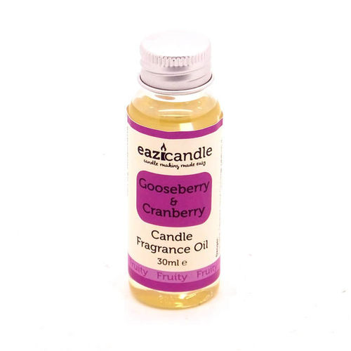 Eazicandle Candle Scent Oil 30ml Bottle - Gooseberry and Cranberry