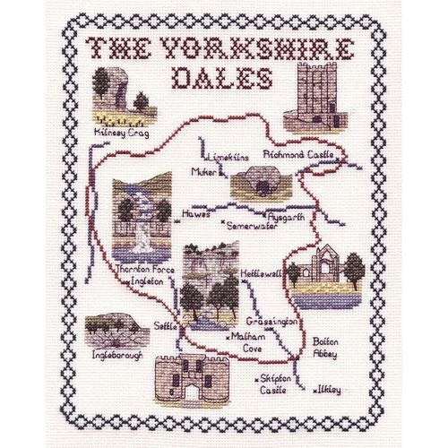 Counted Cross Stitch Kit - The Yorkshire Dales