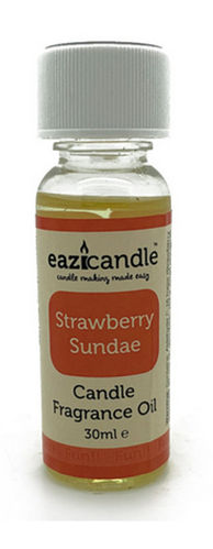 Eazicandle Candle Scent Oil 30ml Bottle - Strawberry Sundae